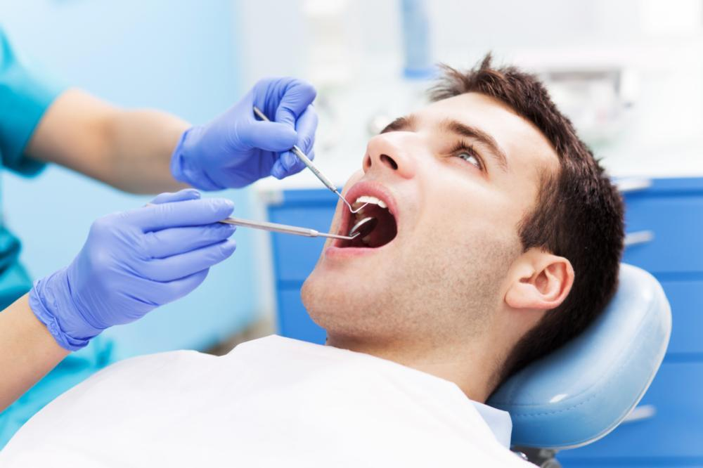 Man at the Dentist | Dental Appointment