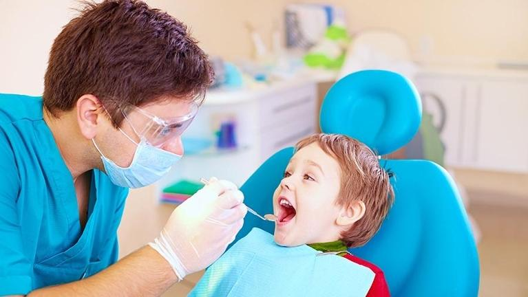 Boy at Dentist | Hampton VIC Children's Dentist